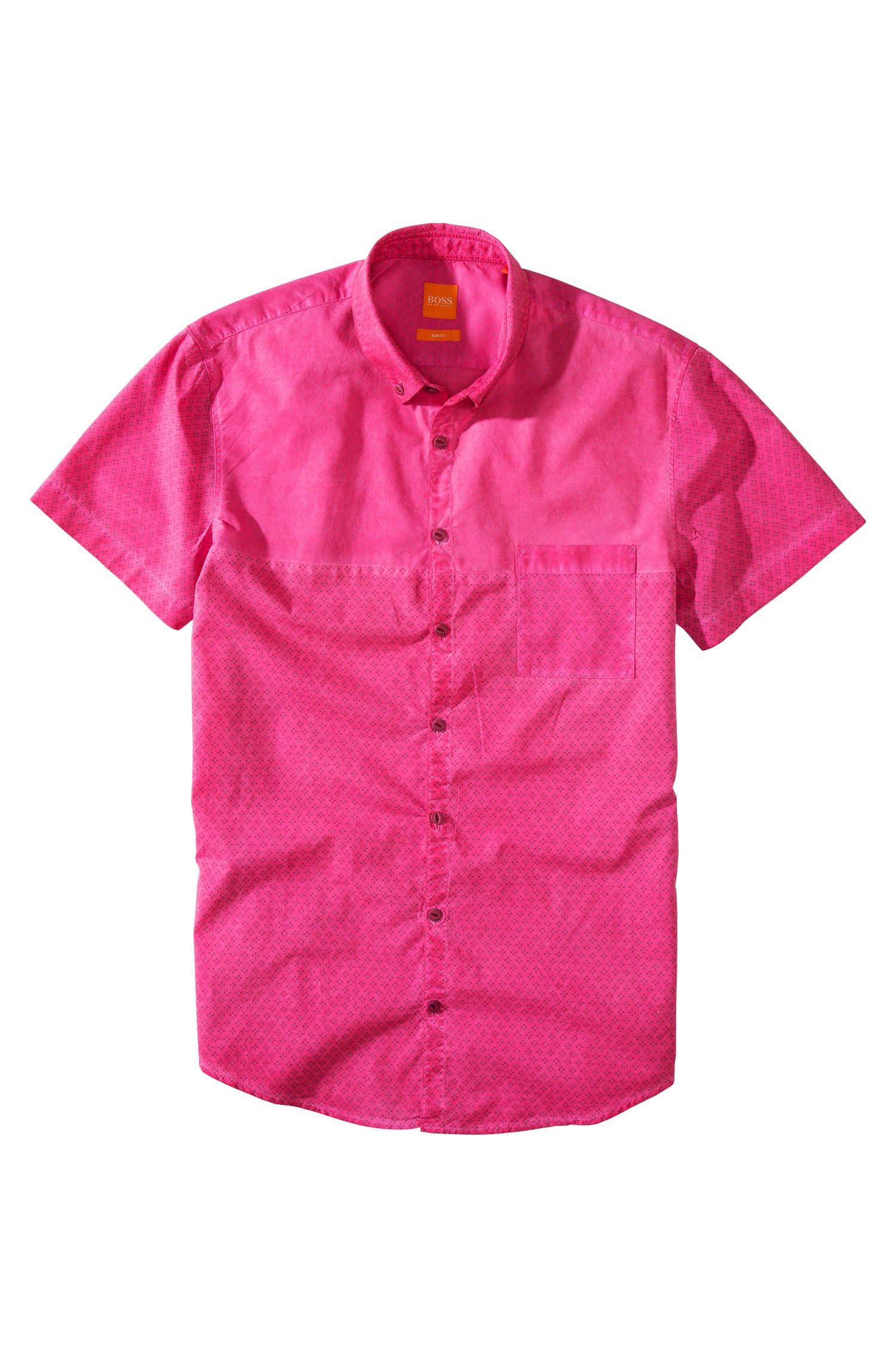 boss orange 39 erollese 39 slim fit cotton short sleeve