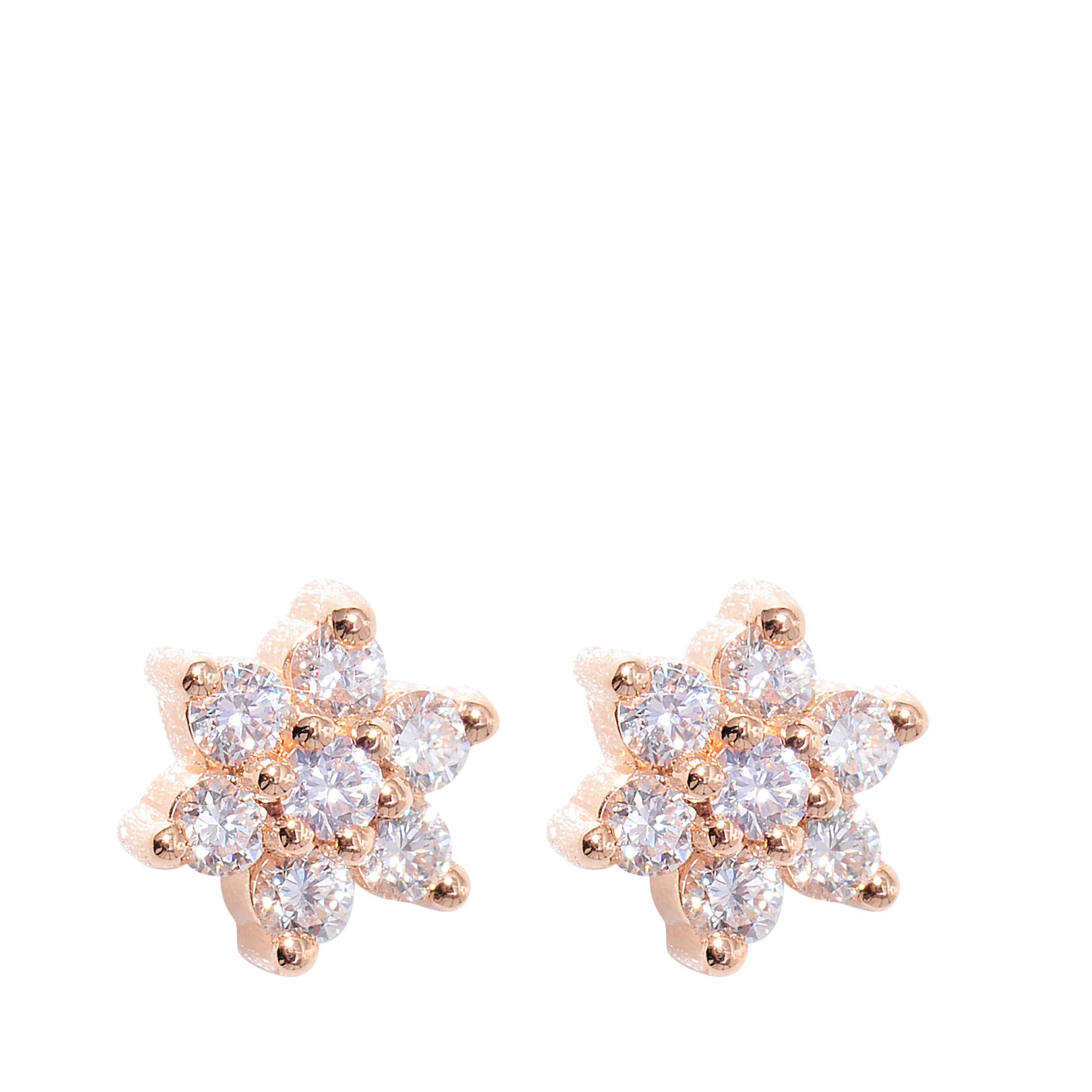 ginette ny diamond star earrings in gold lyst. Black Bedroom Furniture Sets. Home Design Ideas