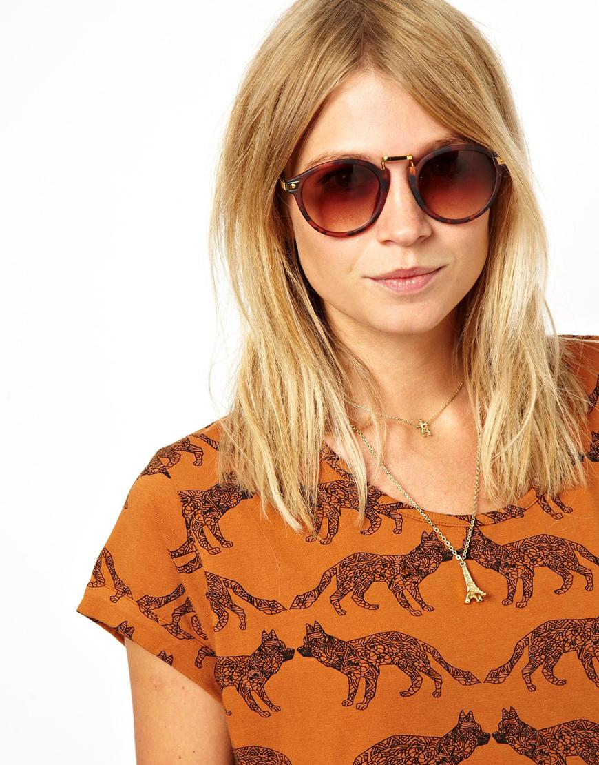 ray ban round sunglasses asos  asos  exaggerated metal bridge round sunglasses product 1 14913822 1 142921522 normal.jpeg
