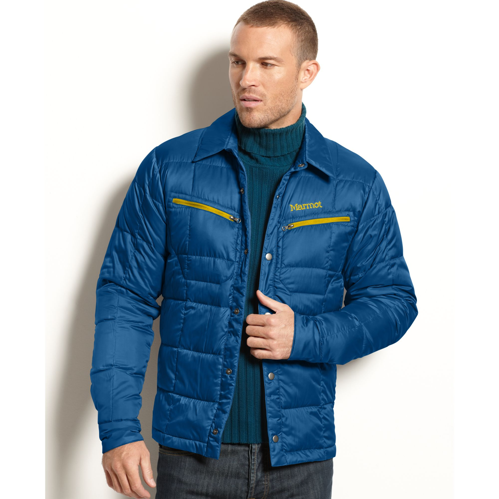 Lyst - Marmot Turner Quilted Down Puffer in Blue for Men : marmot quilted jacket - Adamdwight.com