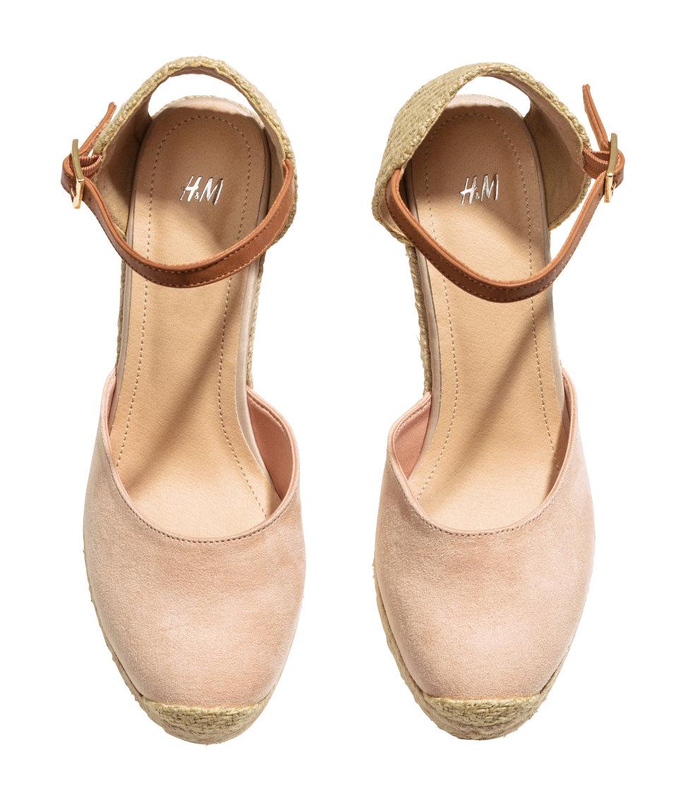 H M Wedge Heel Shoes