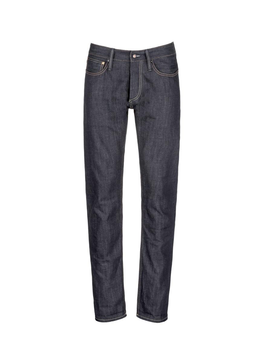 Denham 'razor' Selvedge Jeans in Blue for Men