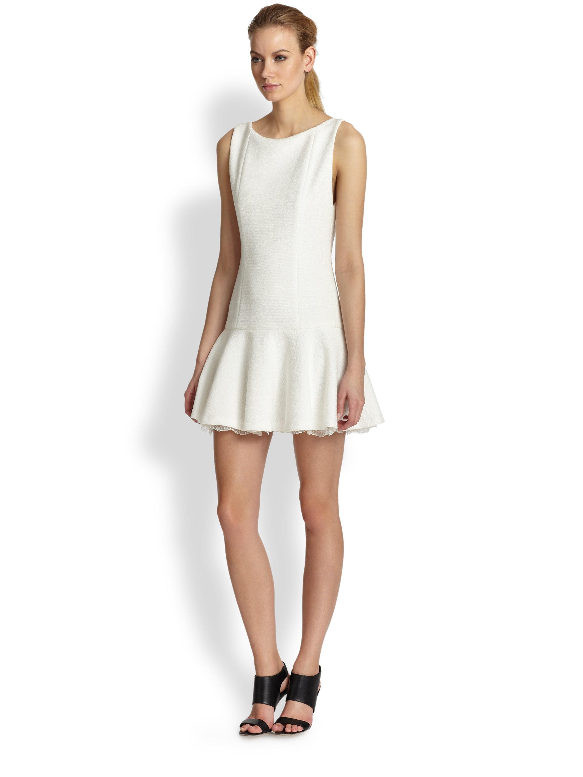 Strapless Drop Waist Dress
