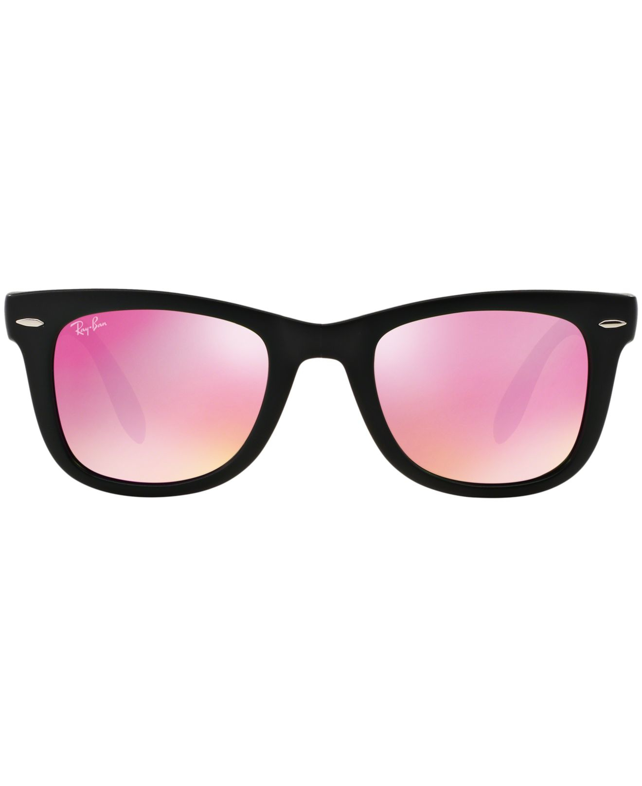 ray ban unisex rb4105 folding wayfarer sunglasses  gallery. previously sold at: macy's · women's wayfarer sunglasses