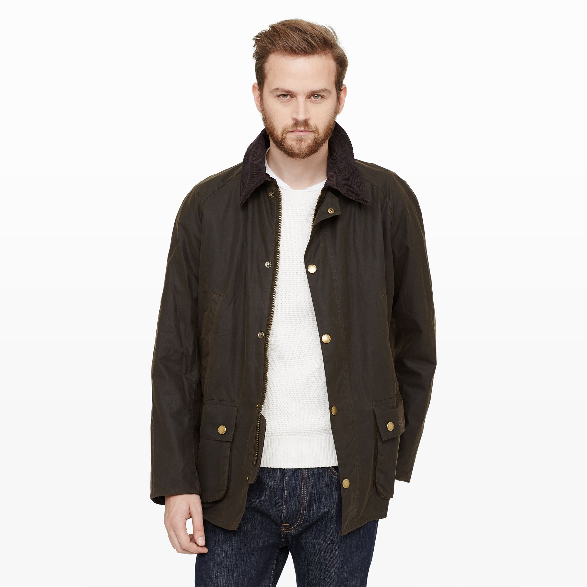 Lyst Club Monaco Barbour Ashby Jacket In Green For Men
