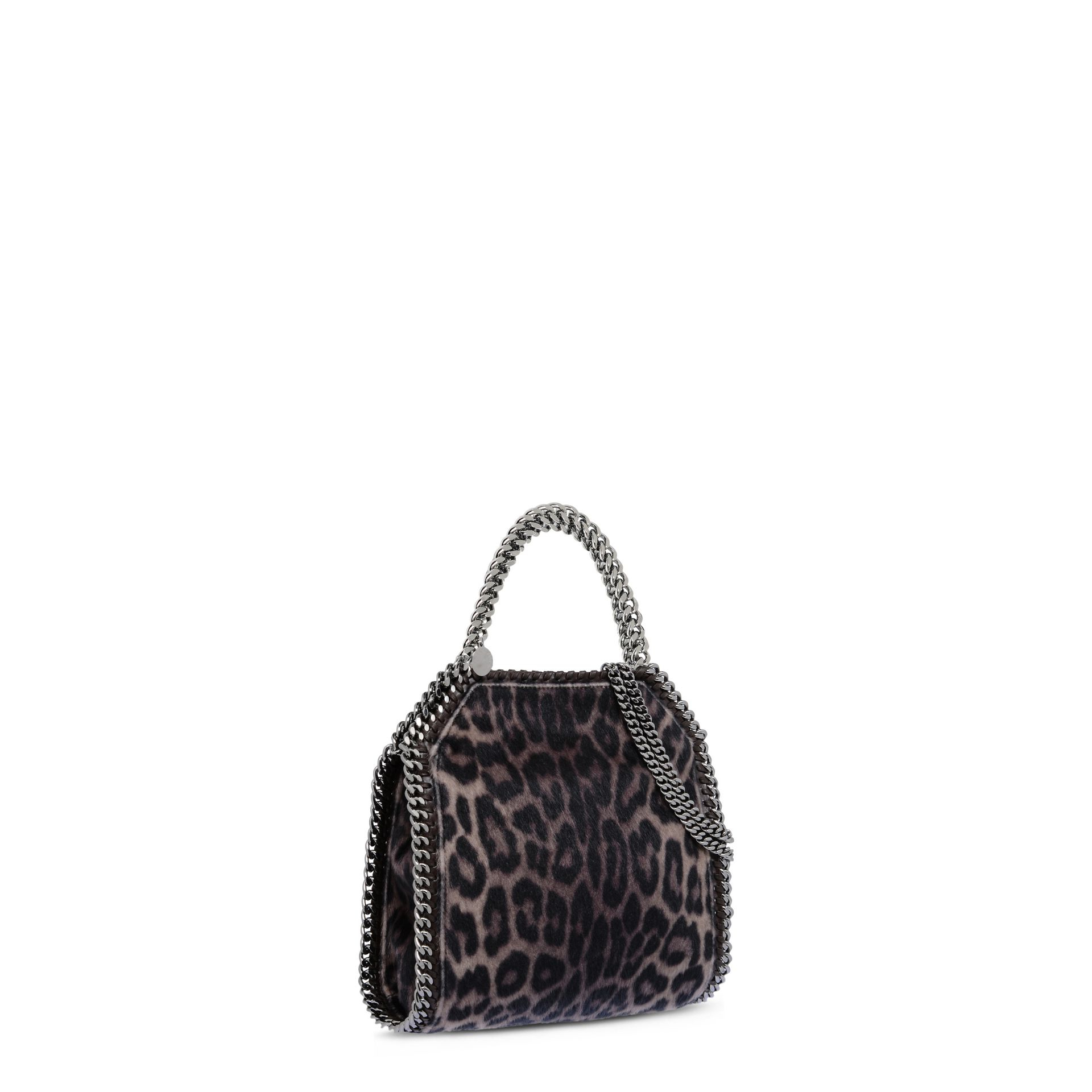 94c30023cfff4 Stella McCartney Falabella Leopard Alter Pony Mini Tote Bag - Lyst