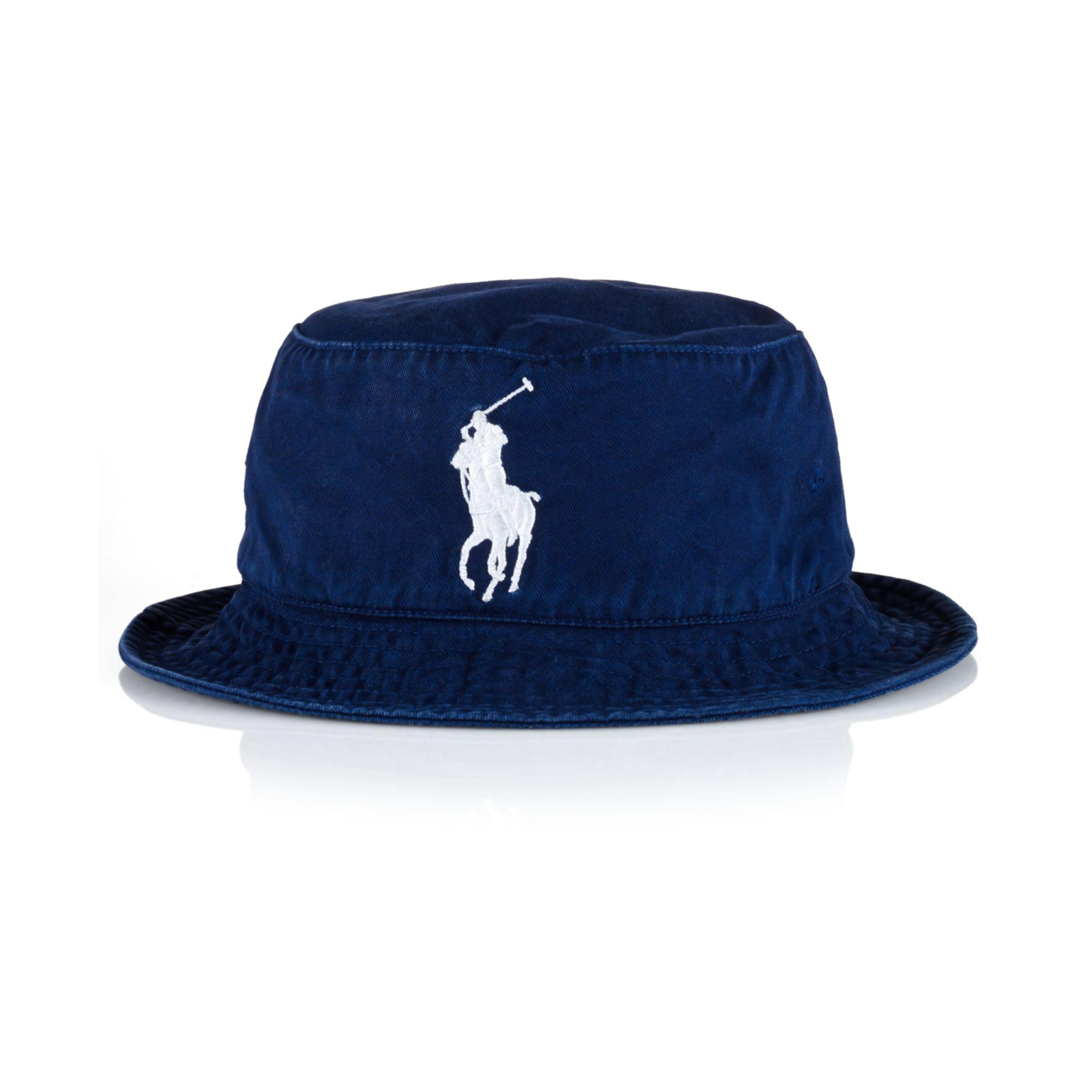 368a8131903 Lyst - Ralph Lauren Polo Us Open Bucket Hat in Blue for Men