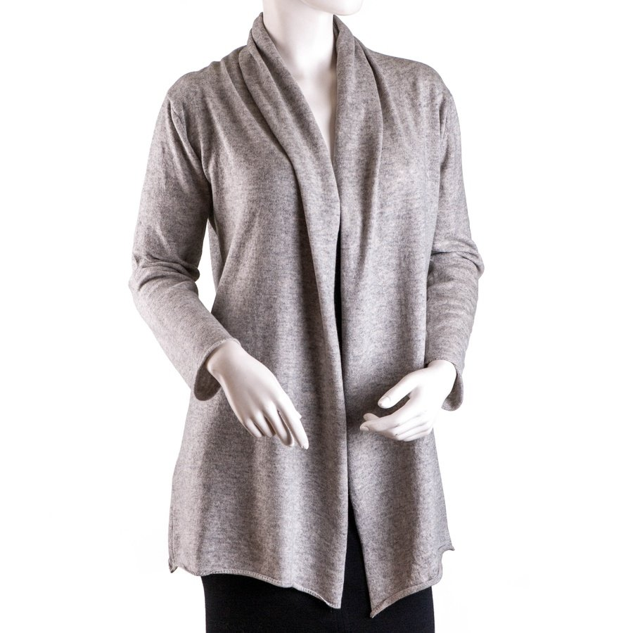 Black.co.uk Dove Grey Shawl Neck Cashmere Cardigan in Gray for Men ...