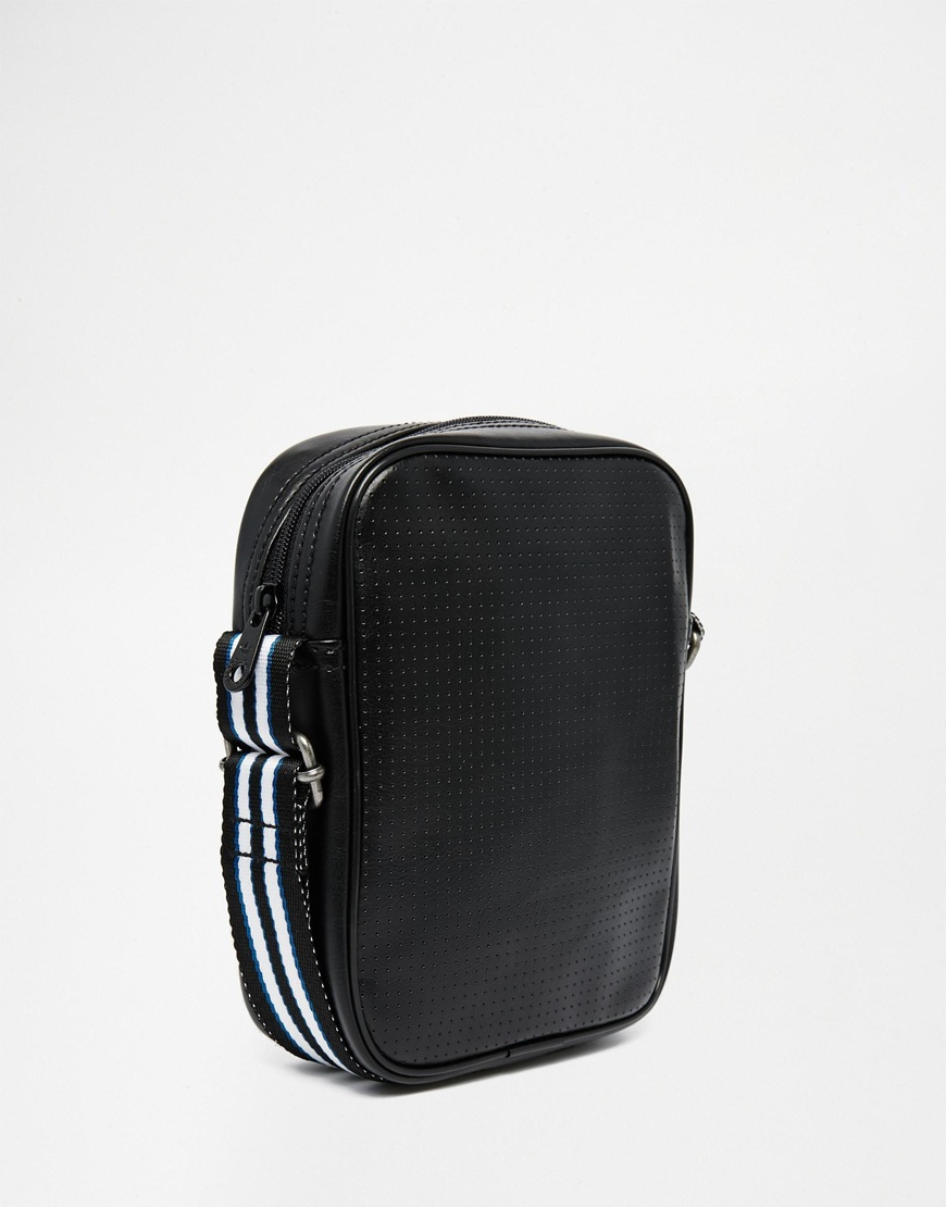 d220911227 Lyst - adidas Originals Perforated Flight Bag in Black for Men