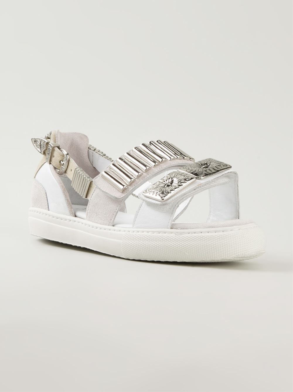 Toga Pulla Sneaker Style Sandals In White Lyst