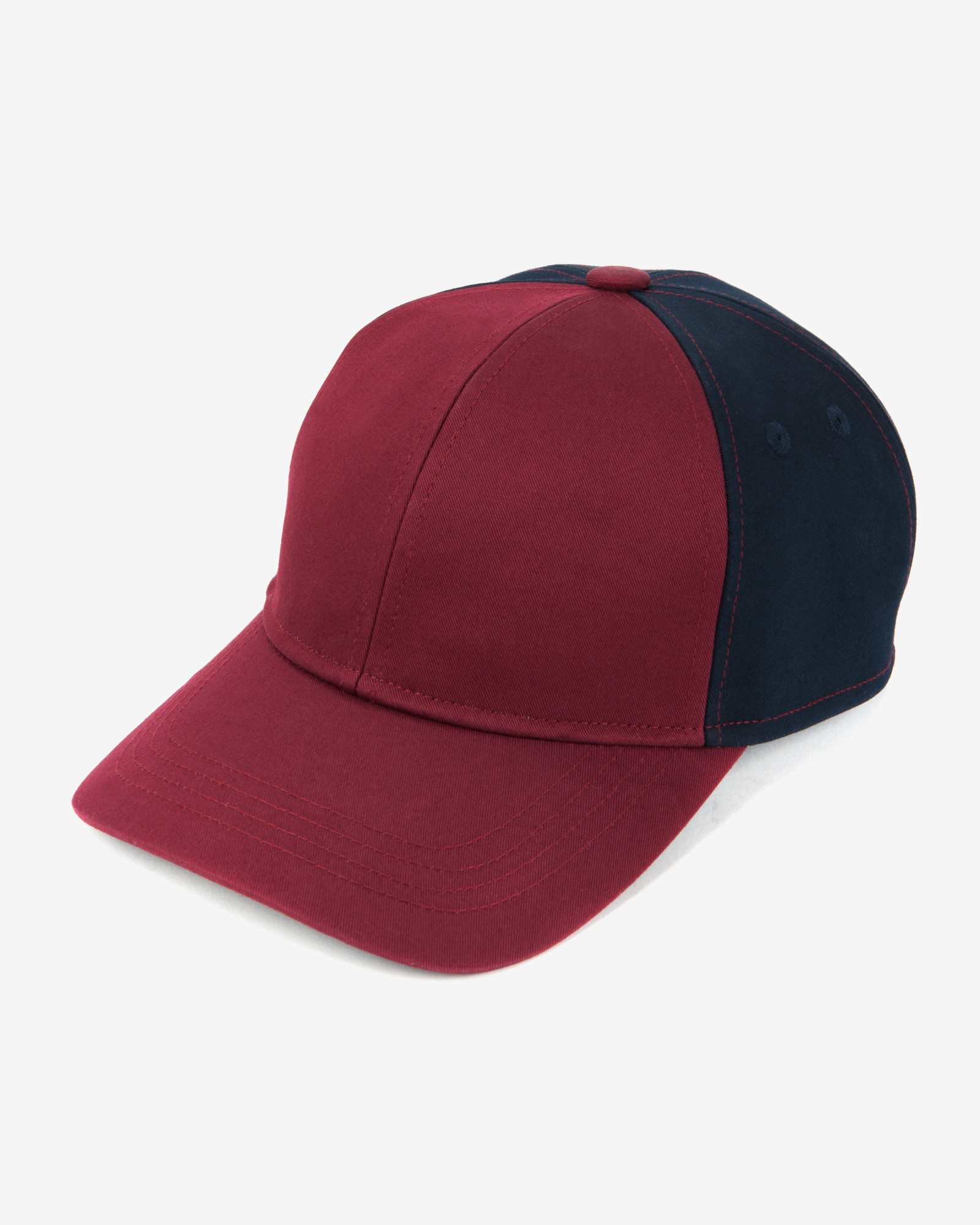 f5741b9853645 Lyst - Ted Baker Two-Tone Baseball Cap in Red for Men