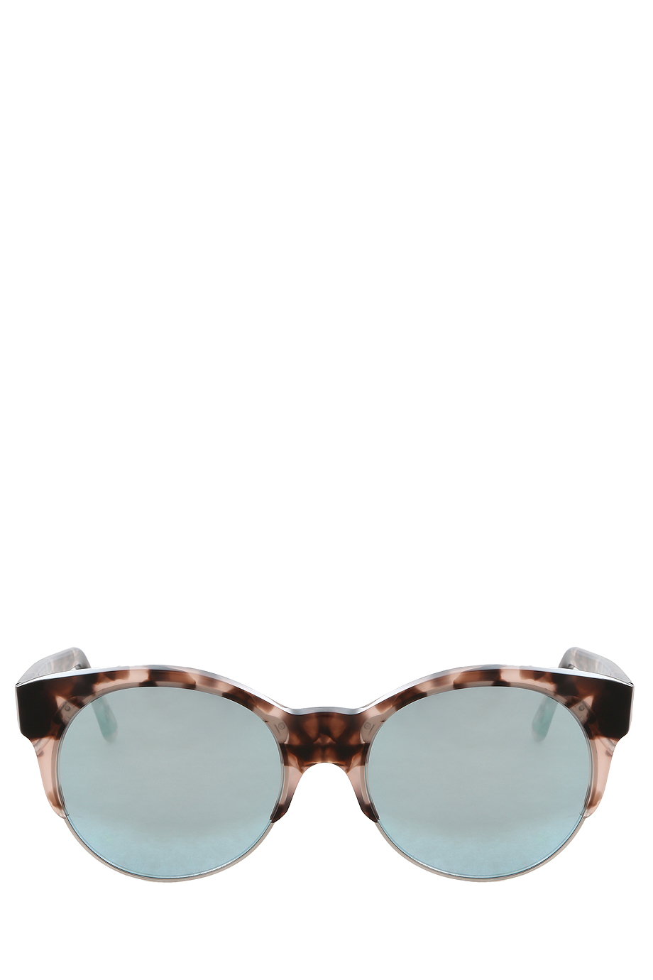 Lyst cutler gross mirror sunglasses in pink for Mirror sunglasses
