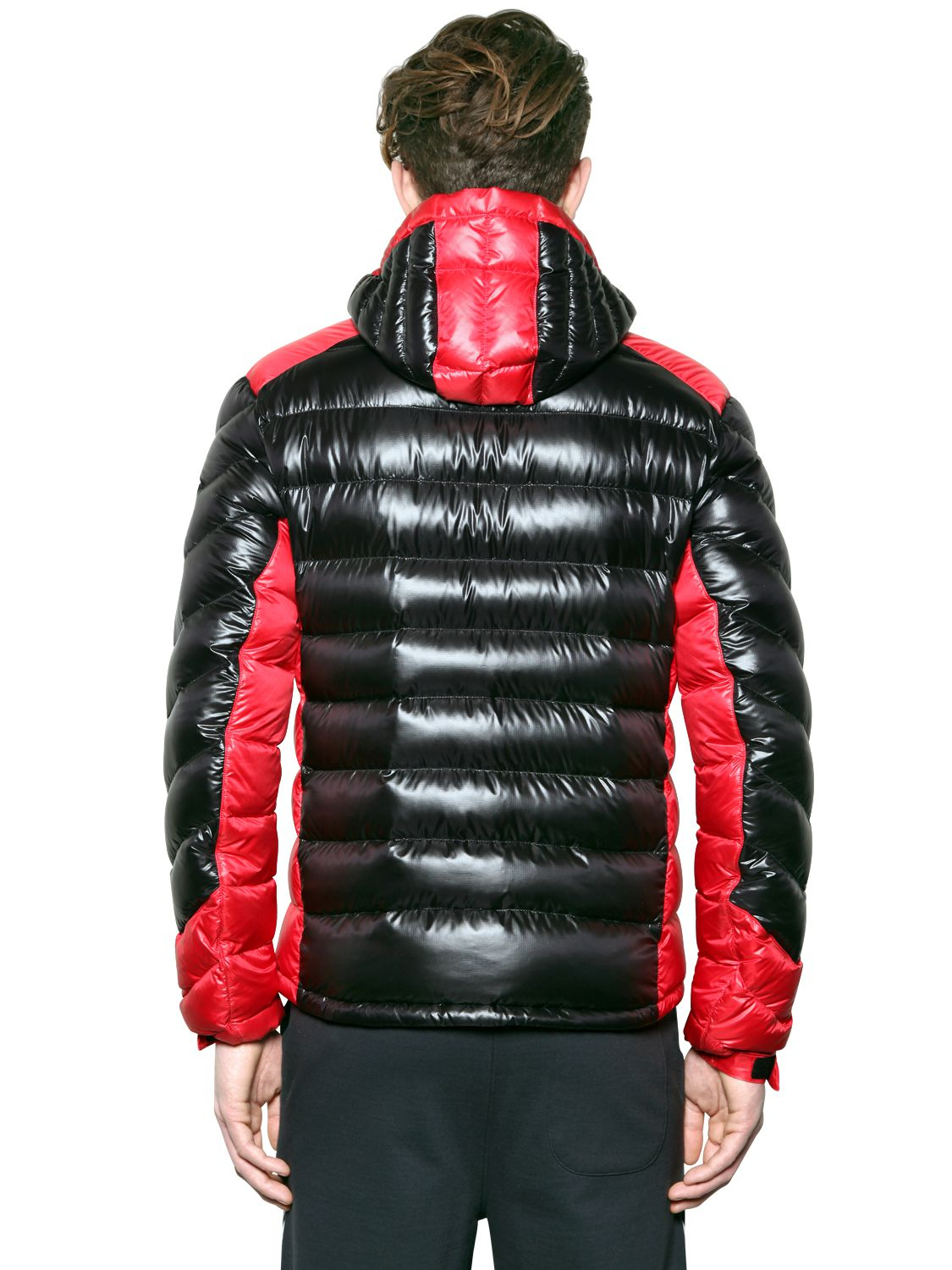 64ddd558d Lyst - Emporio Armani Extreme Shiny Nylon Down Jacket in Red for Men