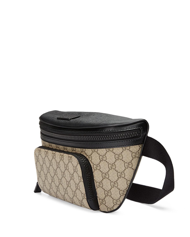Lyst Gucci Eden Gg Supreme Belt Bag In Natural