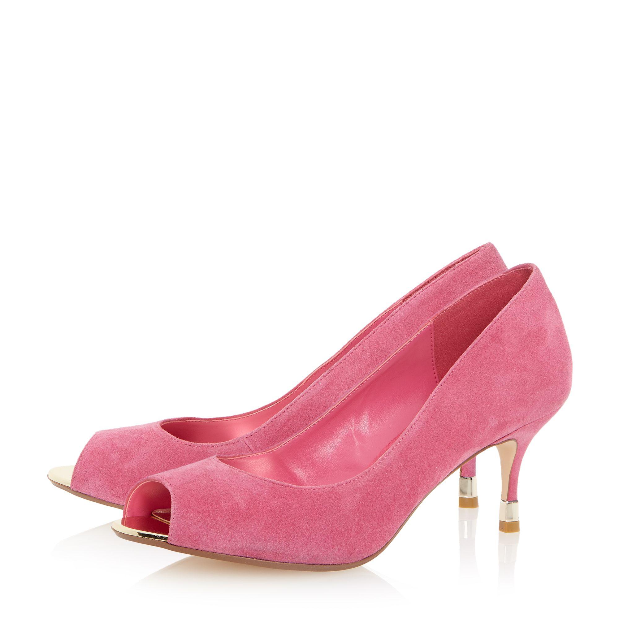 Kitten Heel Pink Shoes