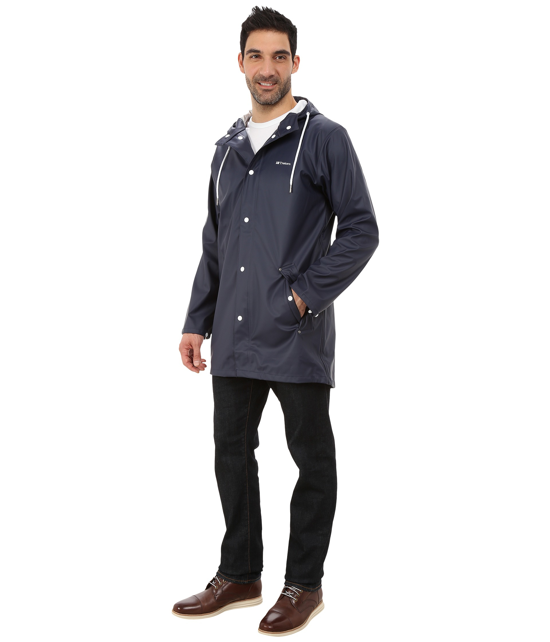Lyst Tretorn Wings Rain Jacket In Blue For Men