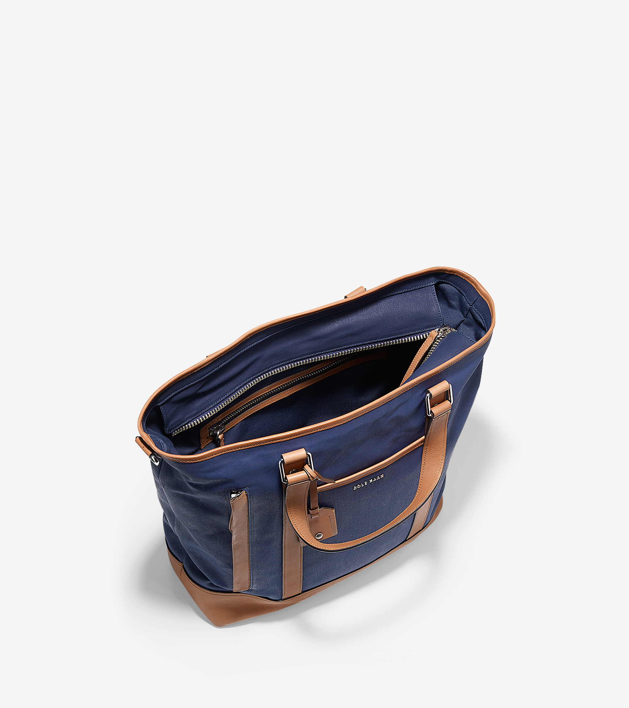 Lyst Cole Haan Marshall Tote In Blue For Men