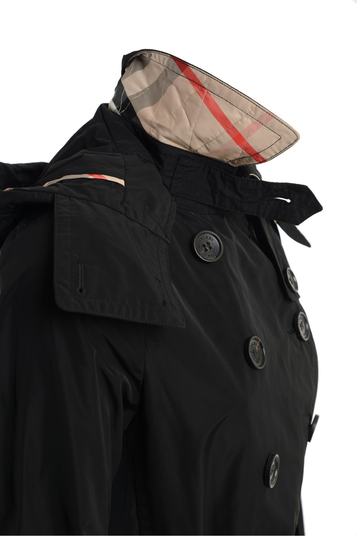 black trench coat with hood - photo #9
