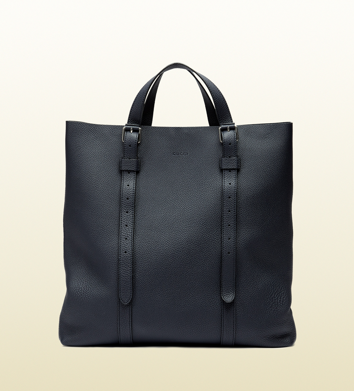 600ce37d44f4 Gucci Blue Leather Tote Bag | Stanford Center for Opportunity Policy ...