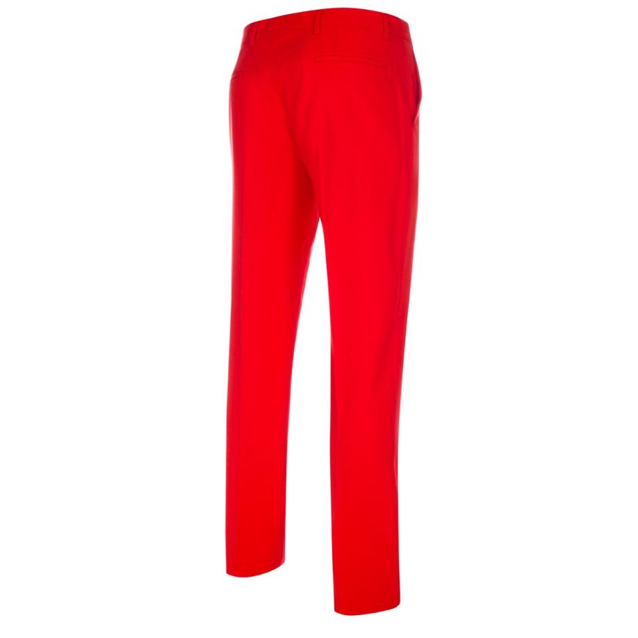 Well-liked Lyst - Paul Smith Men's Mid-fit Bright Red Wool-hopsack Trousers  WL72