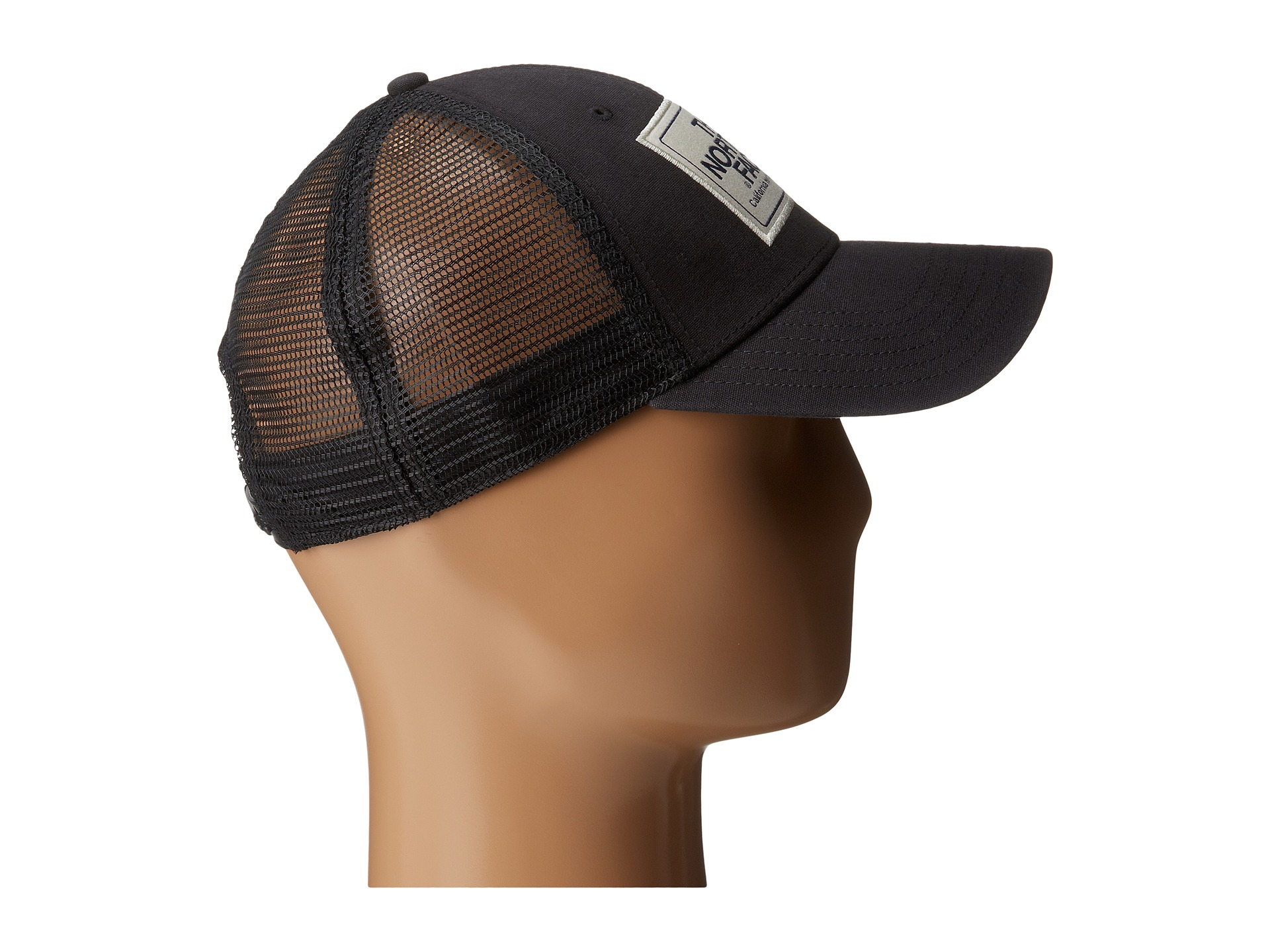 d2a24192ebd403 The North Face Mudder Trucker Hat W/ Logo Patch in Black - Lyst