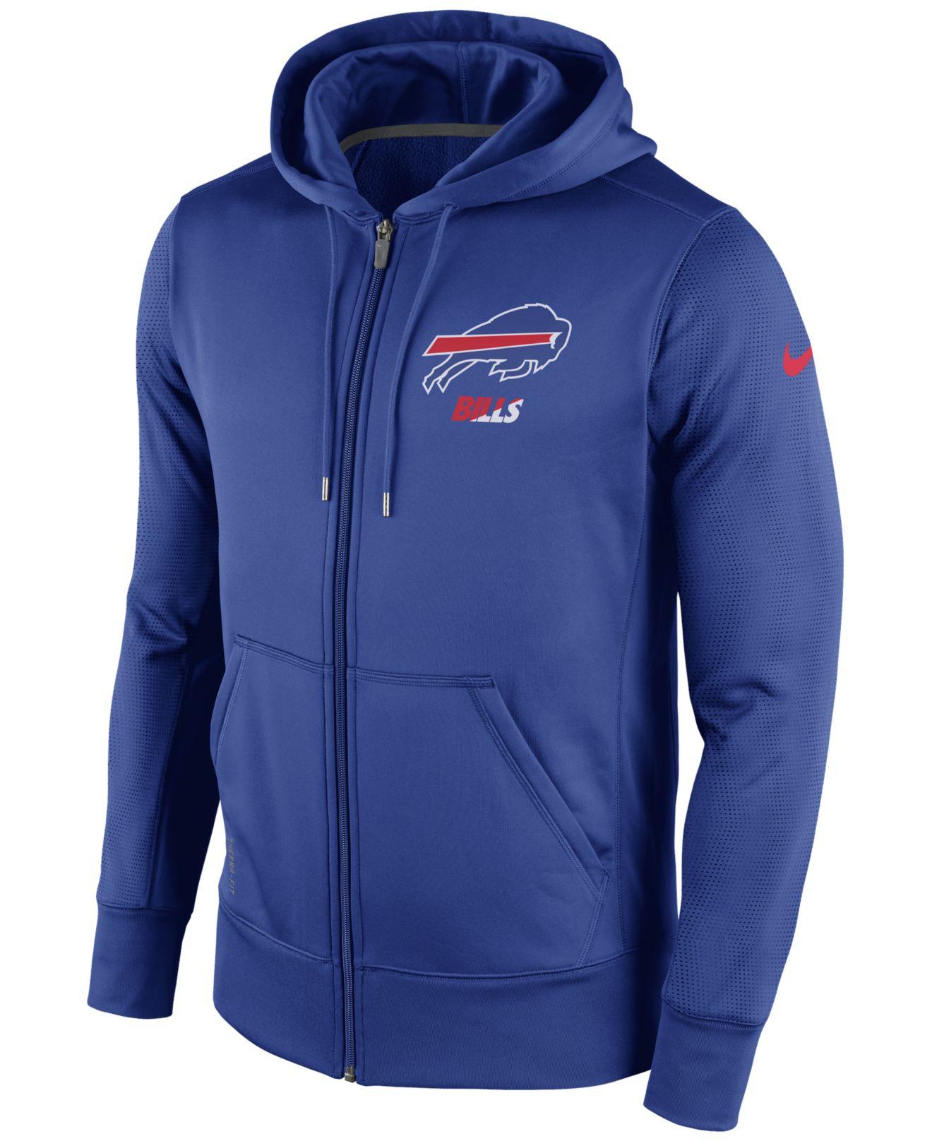 8ca851b12 Lyst - Nike Men s Buffalo Bills Sideline Ko Fleece Full-zip Hoodie ...
