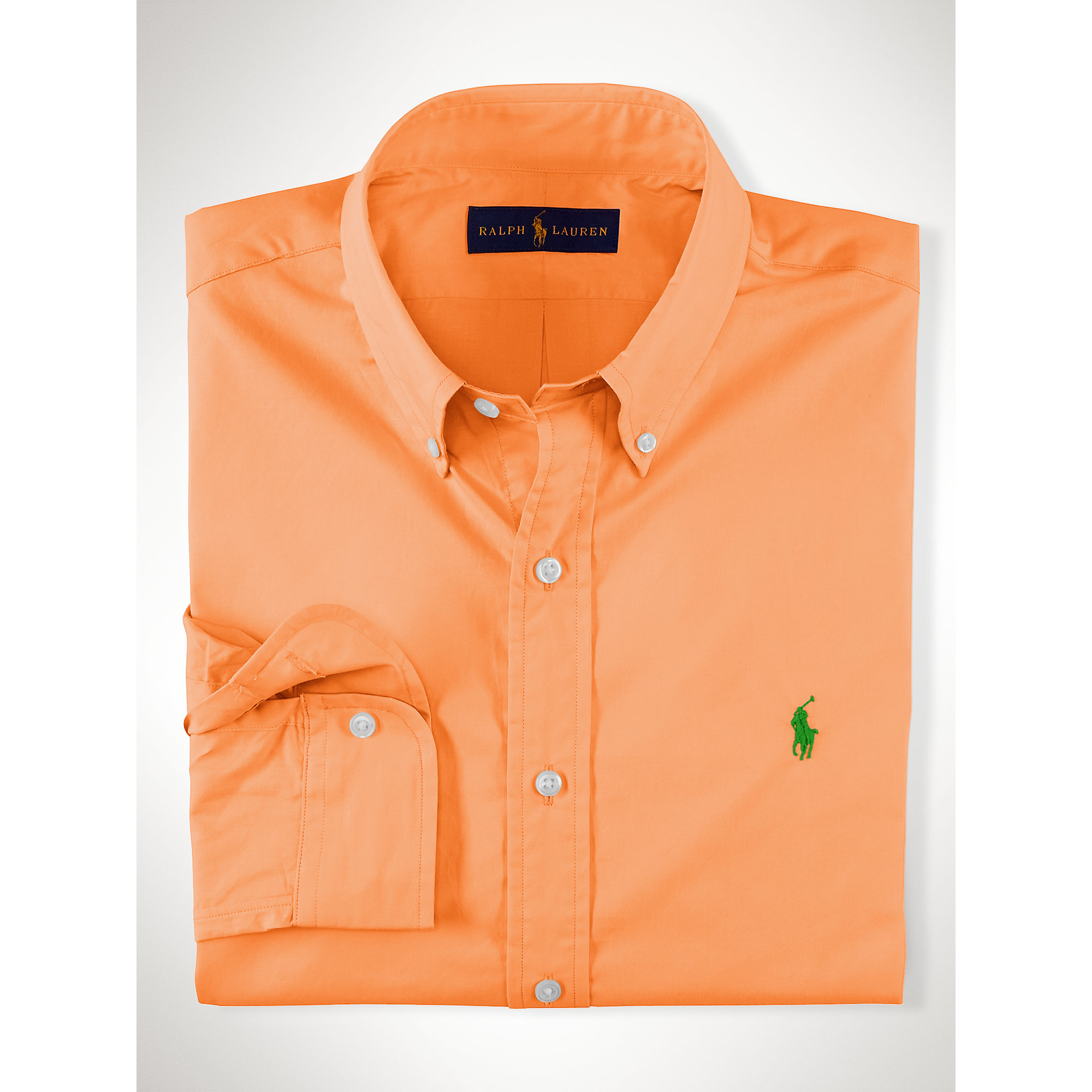 Slim-fit cotton-poplin shirt Polo Ralph Lauren