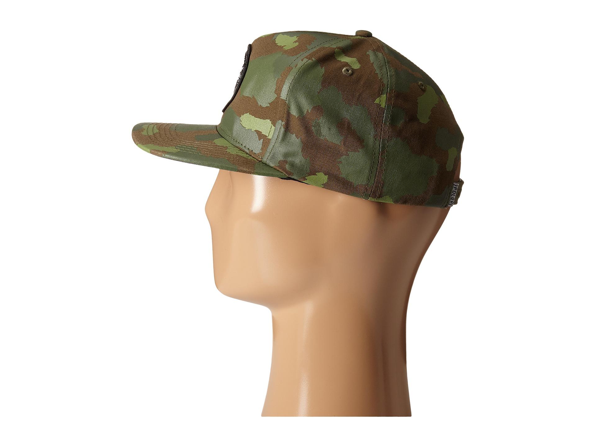 2179b2b0d374a Lyst - Poler Tiger Eye Snapback in Green for Men
