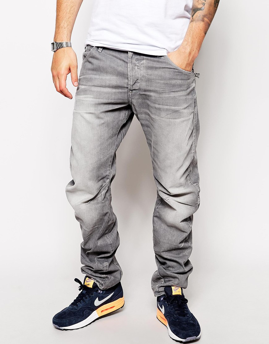 Order G-Star RAW Mens Defend Straight Jeans Mens Jeans Buy Jeans for Men COLOUR-medium aged