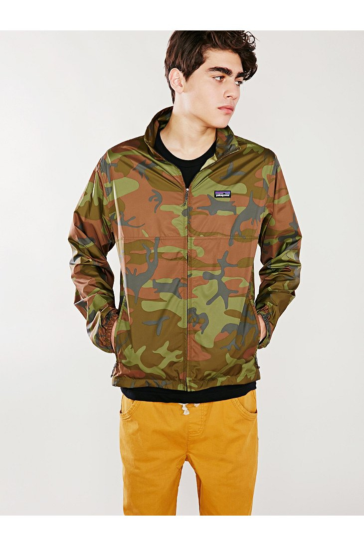 Lyst Patagonia Light And Variable Jacket In Green For Men