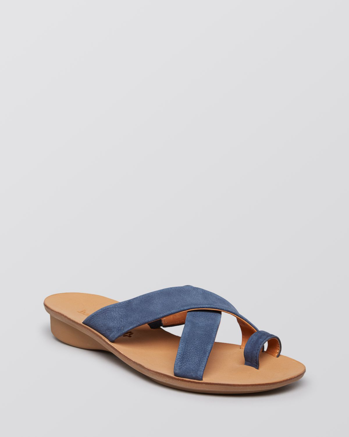 Lyst Paul Green Flat Sandals Victoria In Blue