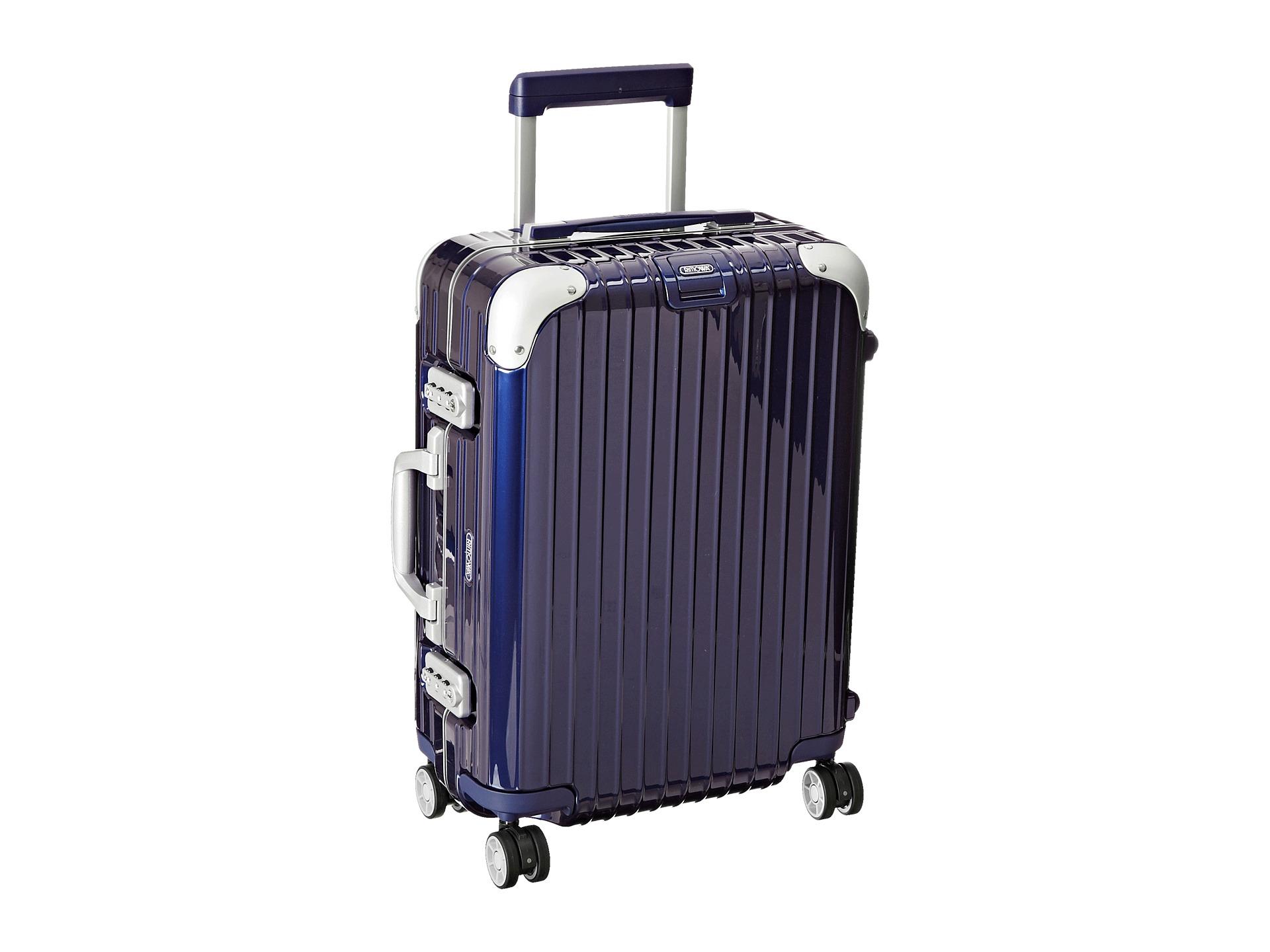 rimowa limbo cabin multiwheel in blue lyst. Black Bedroom Furniture Sets. Home Design Ideas