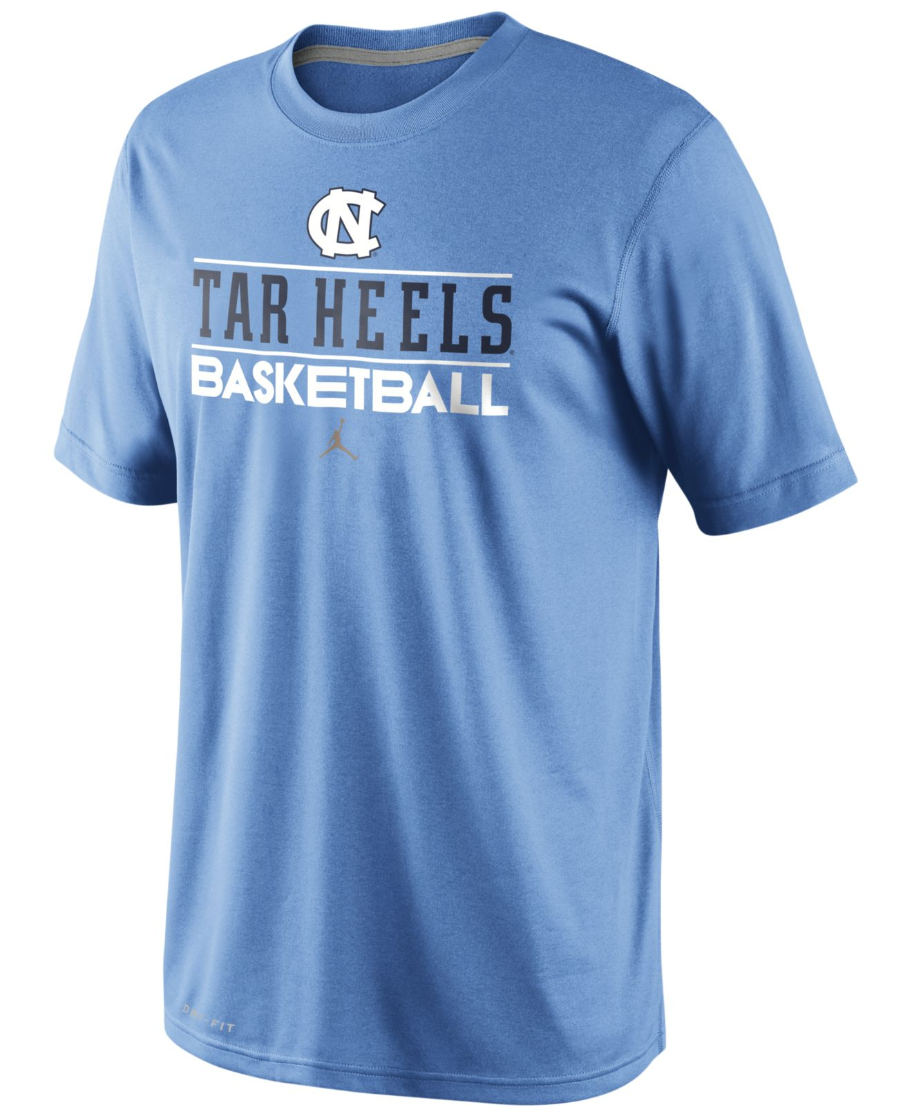Nike men 39 s north carolina tar heels team issue basketball for Nc state basketball shirt