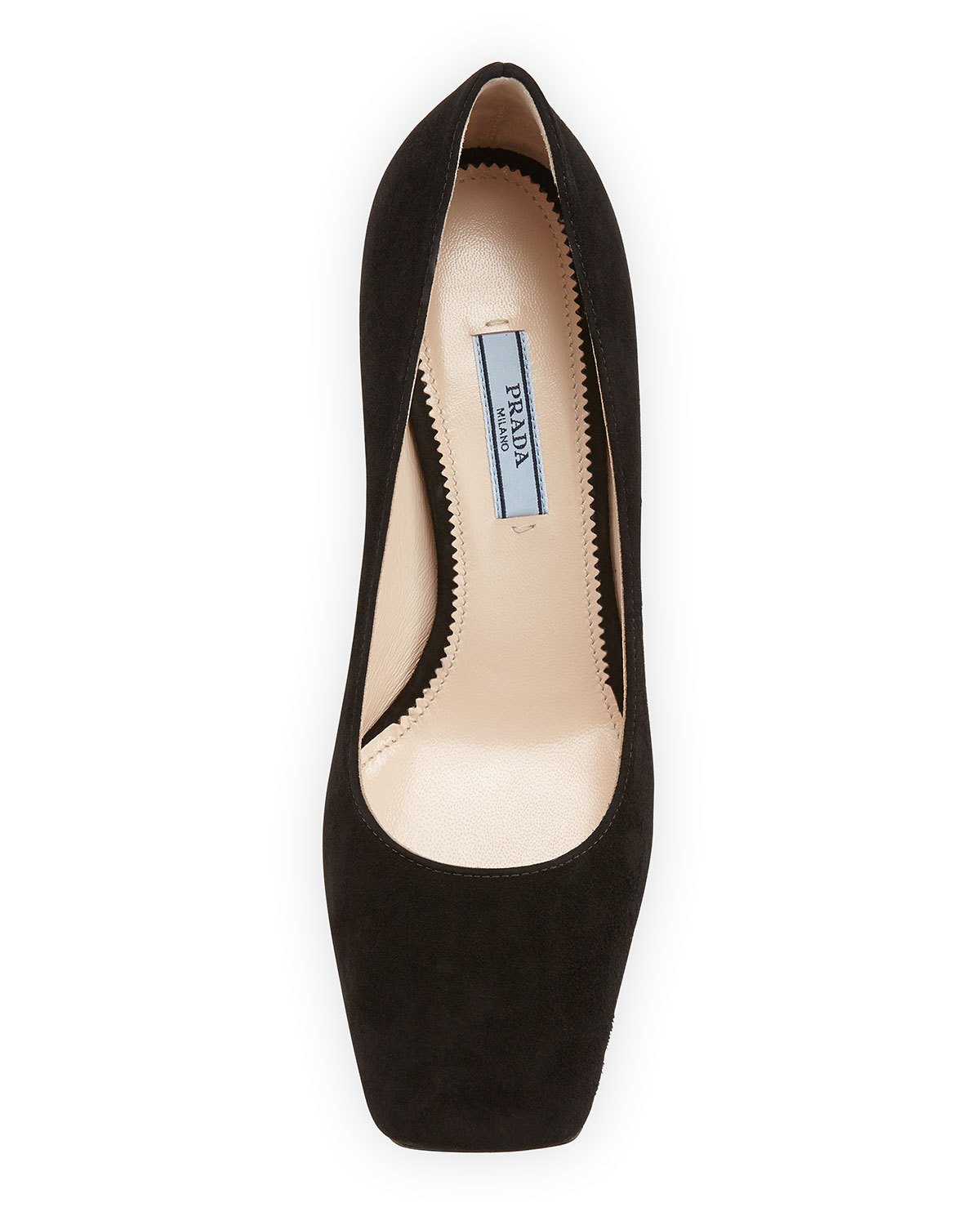 cheapest price discount latest Prada Suede Square-Toe Flats discount shop offer sale Manchester cheap many kinds of hUw3fuY