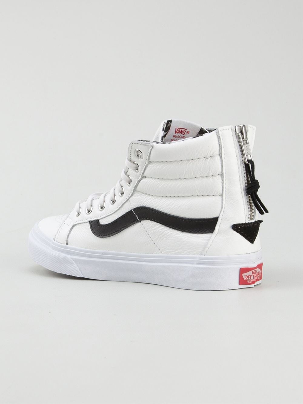 how to clean vans sk8 hi white