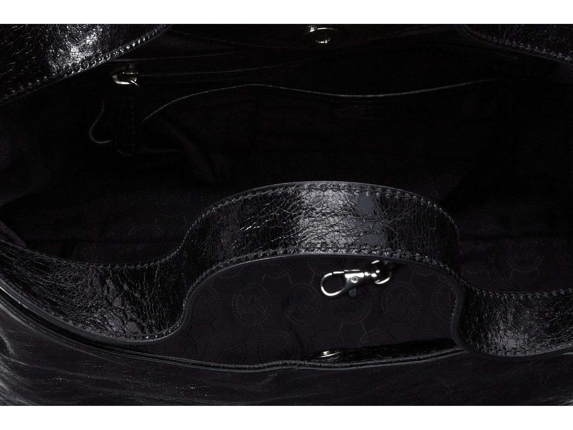 11745cdadee5 Lyst - MICHAEL Michael Kors Devon Large Shoulder Tote in Black
