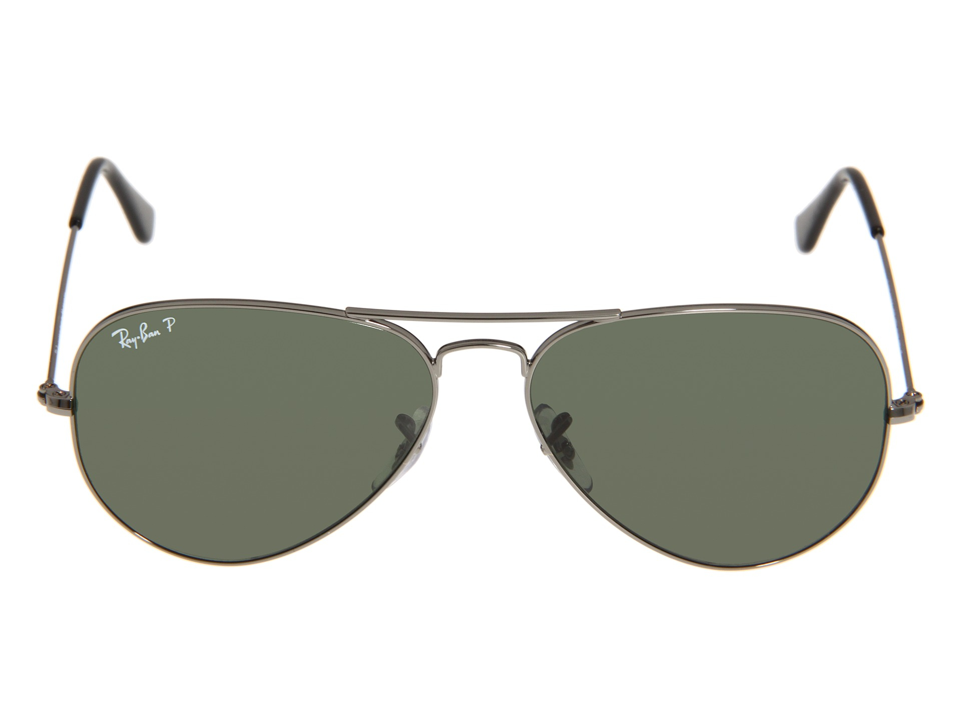 silver ray ban aviators rb 3025 58 polarized. Black Bedroom Furniture Sets. Home Design Ideas