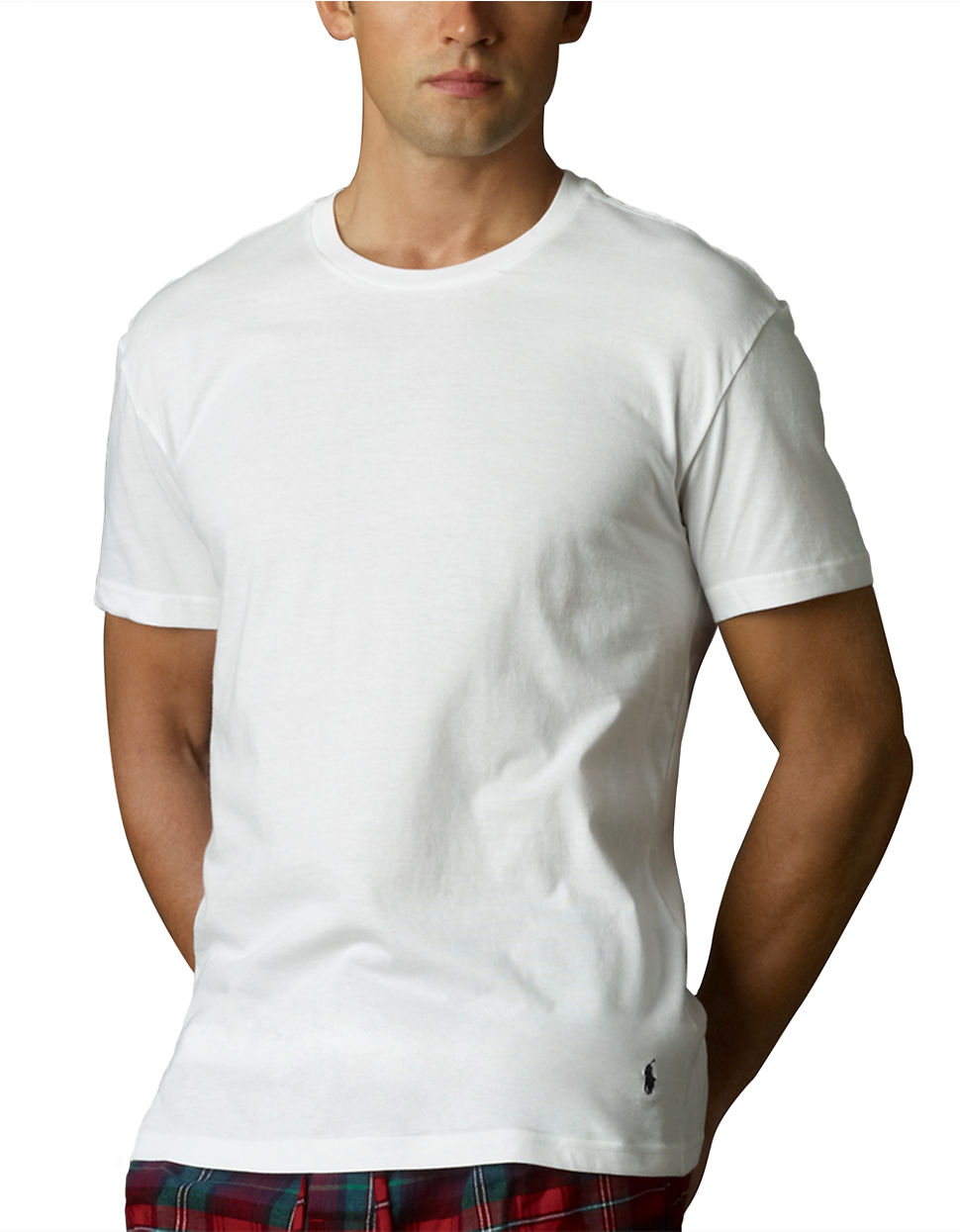 Polo Ralph Lauren Slim Fit Crew T Shirt Three Pack In