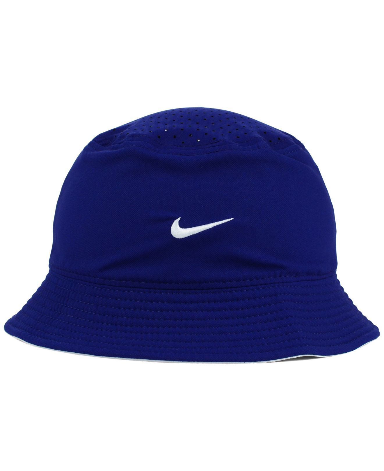 ... Lyst - Nike Los Angeles Dodgers Vapor Dri-fit Bucket Hat in Blue for  Men ... 845ad652e32