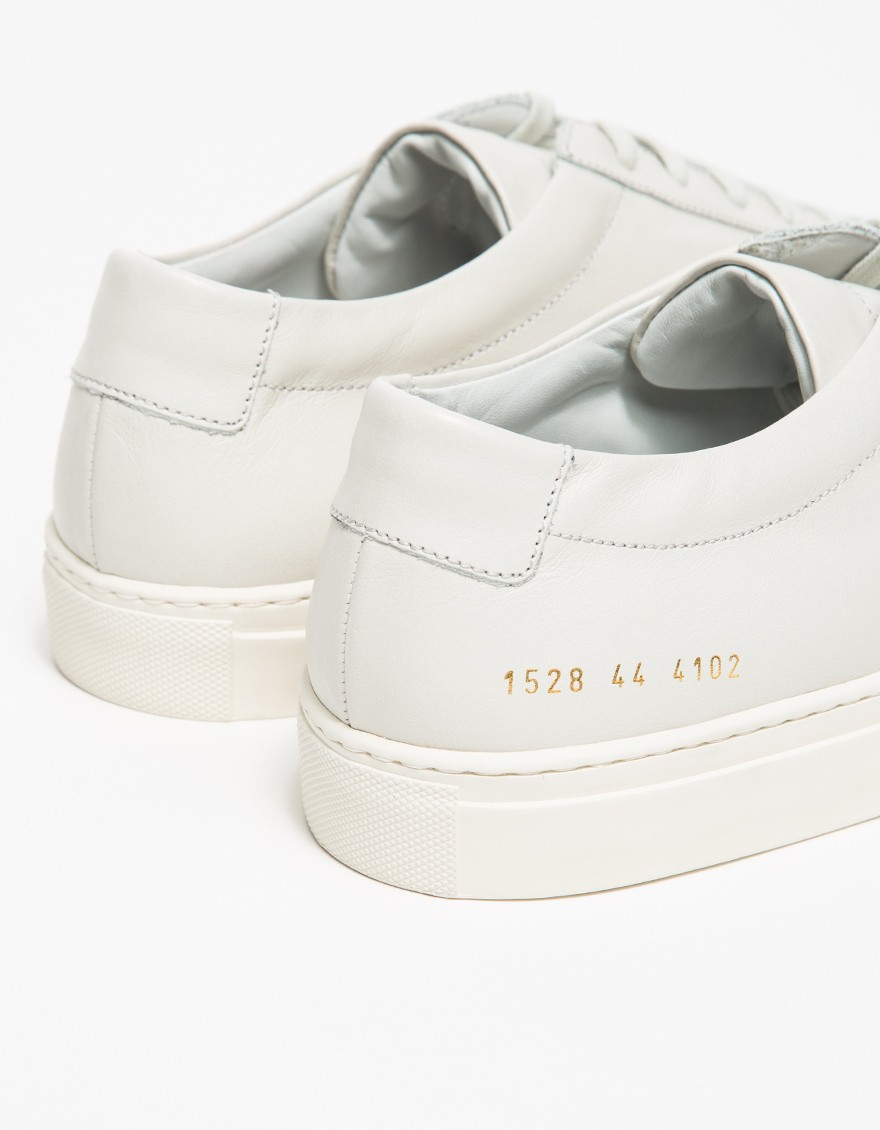 Common projects Original Achilles Leather Low-Top Sneakers in White for Men (off white) | Lyst