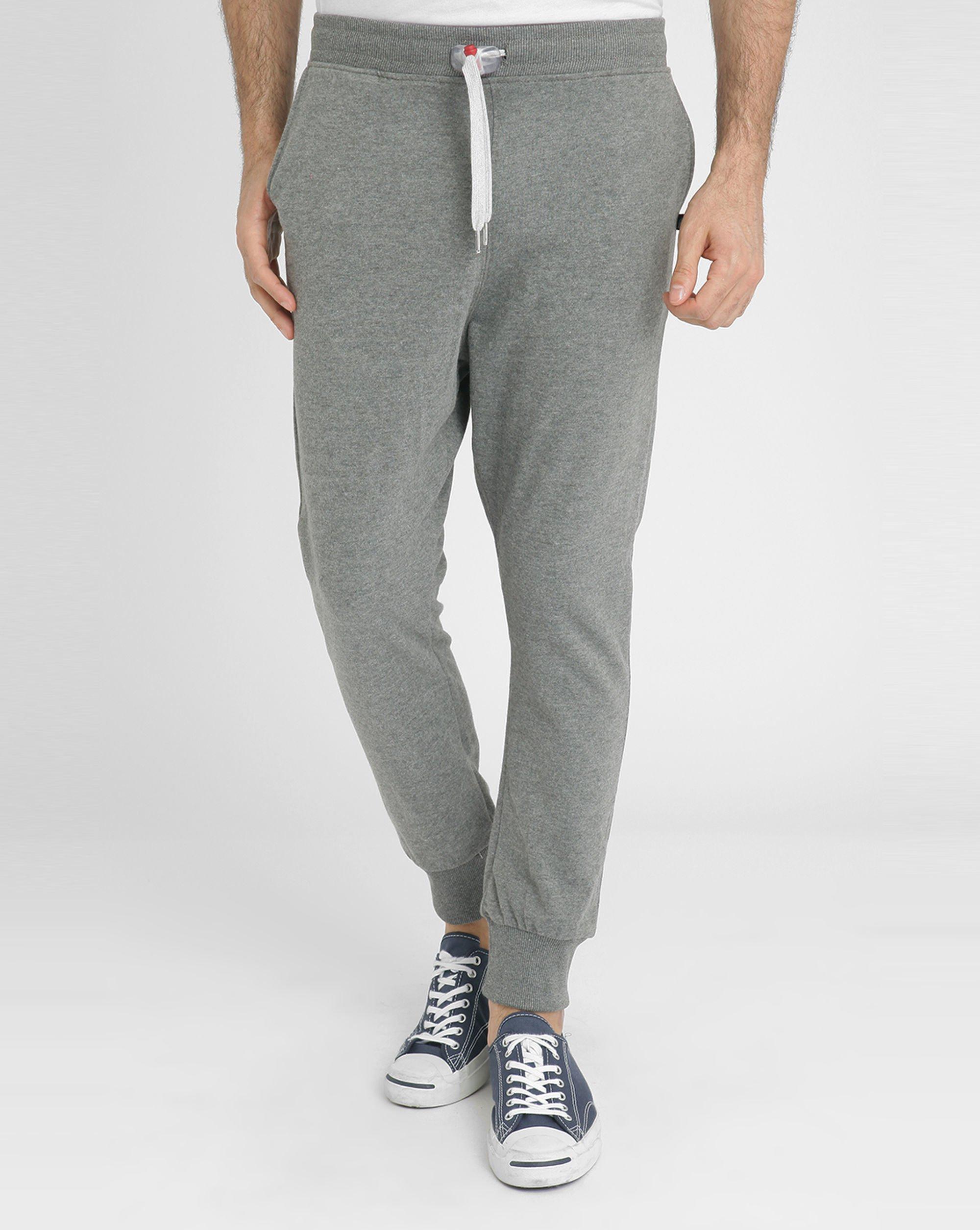 Sweet pants Dark Mottled Grey Loose-fit Joggers in Gray ...