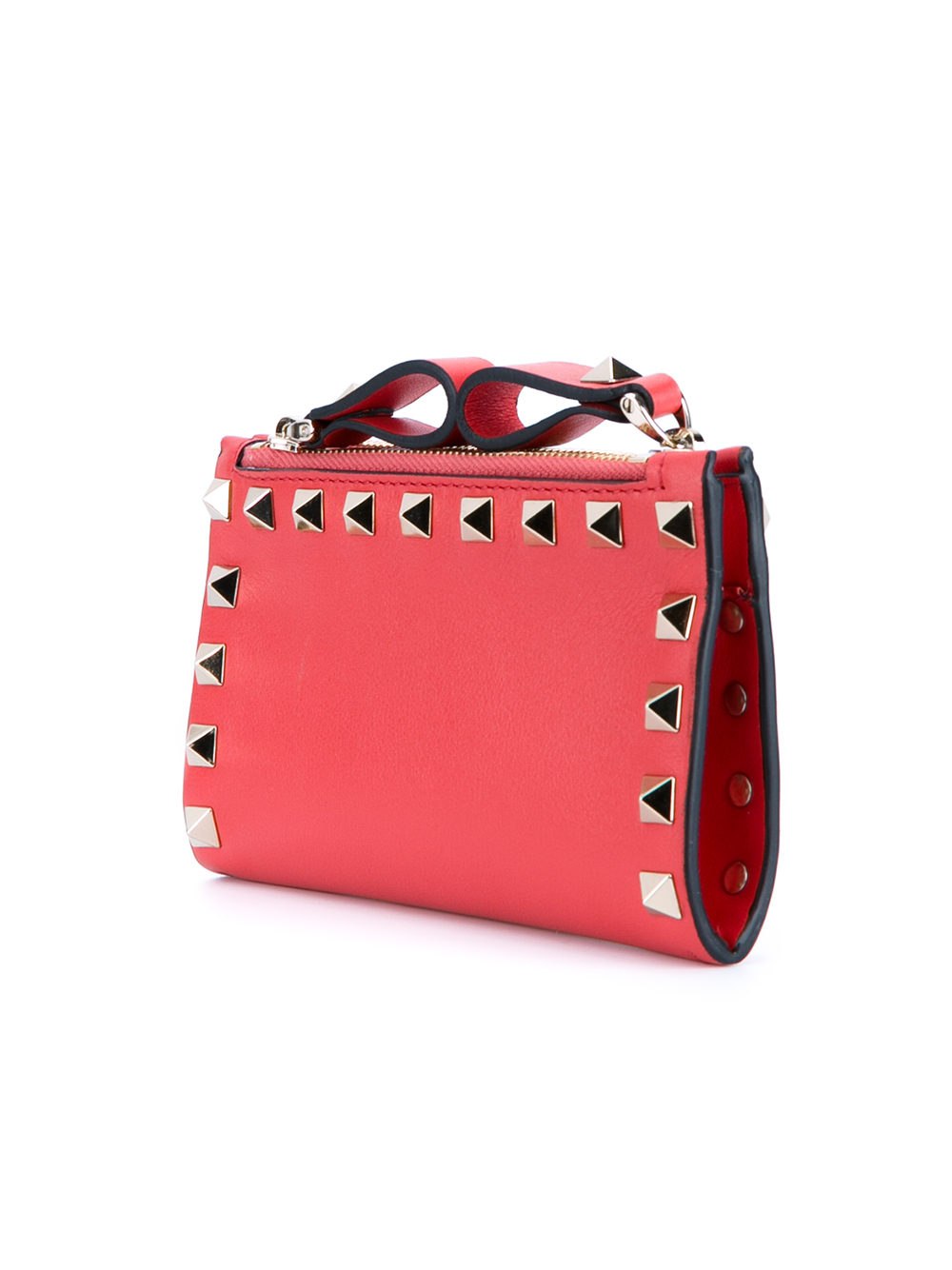 Rockstud coin purse - Red Valentino Mh0P02k