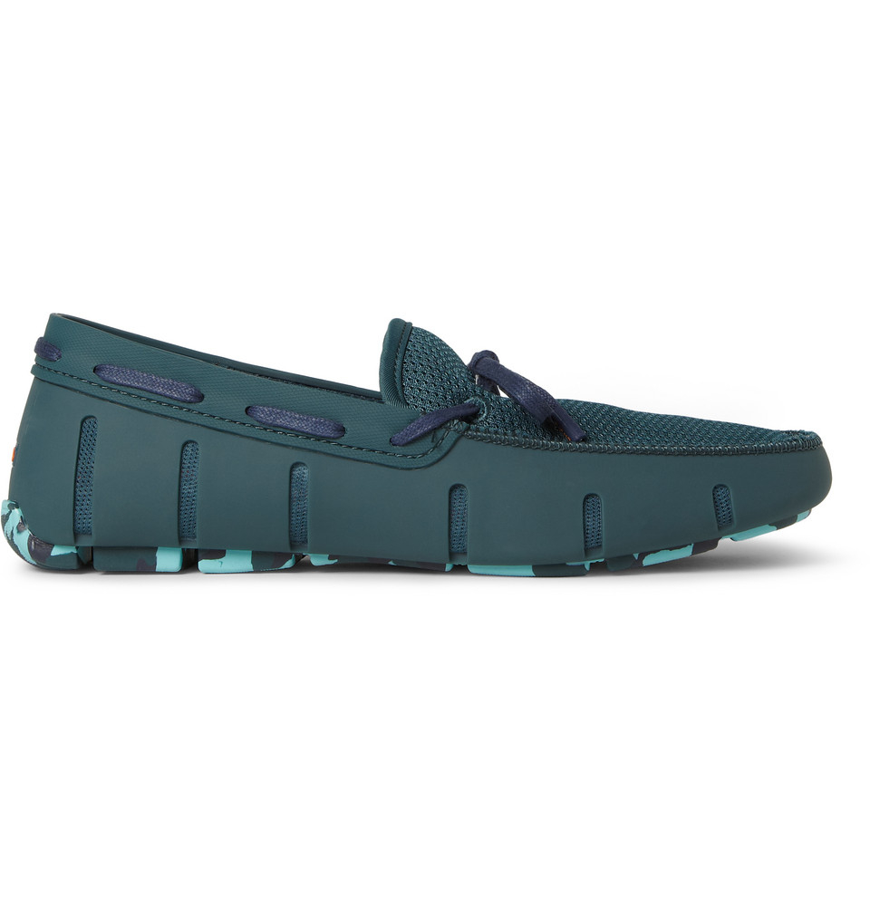 Swims Men S Rubber And Mesh Boat Shoes