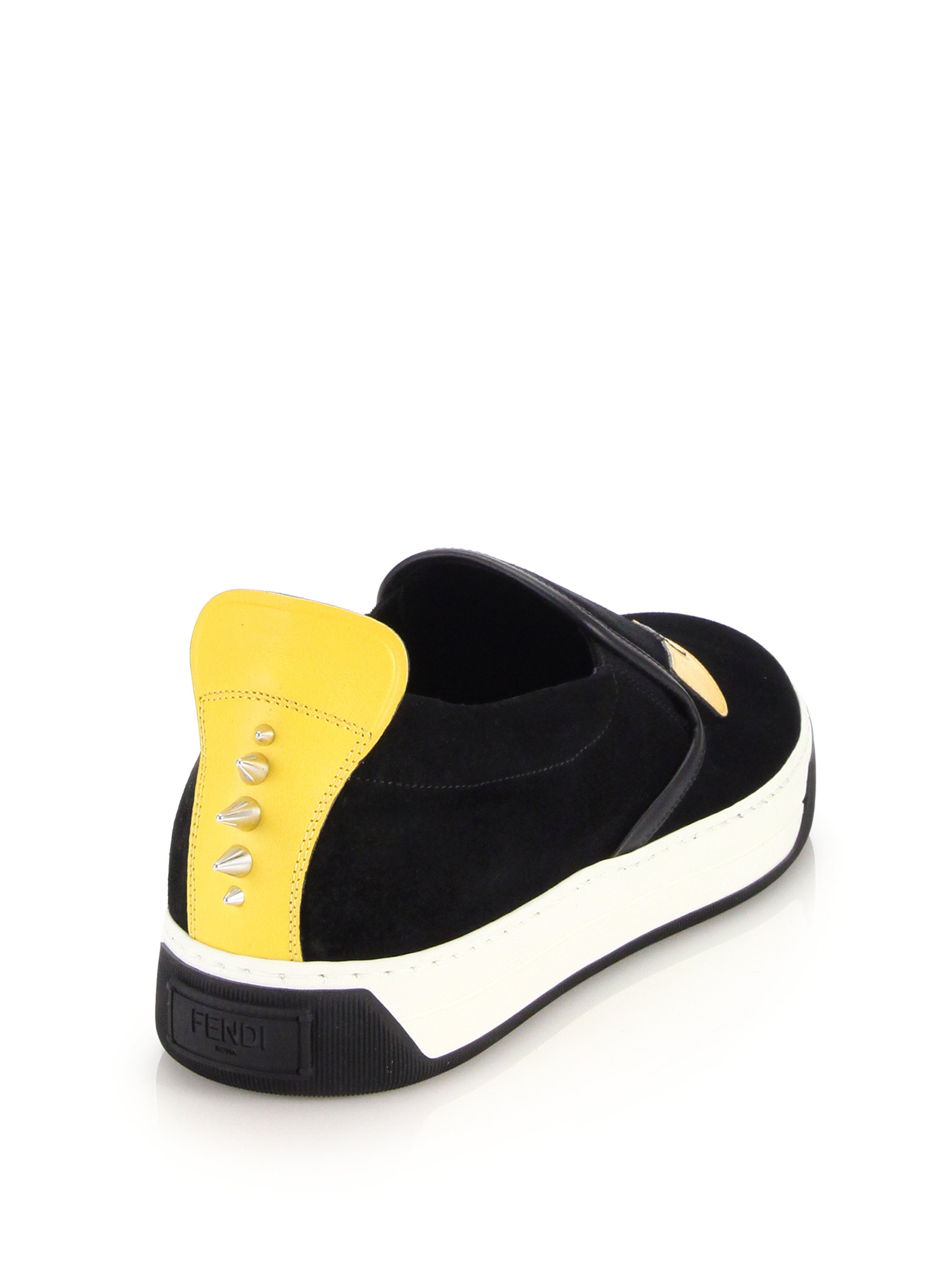 FendiMonster Colorblock Sneakers cMNbpLp6