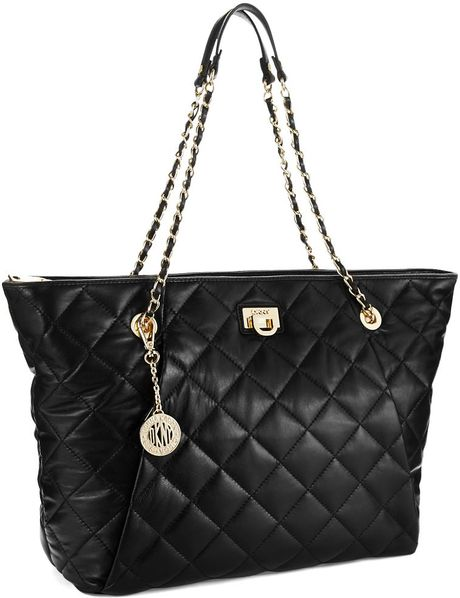 сумка Quilted Nappa : Dkny gansevoort quilted leather shoulder bag microfiber