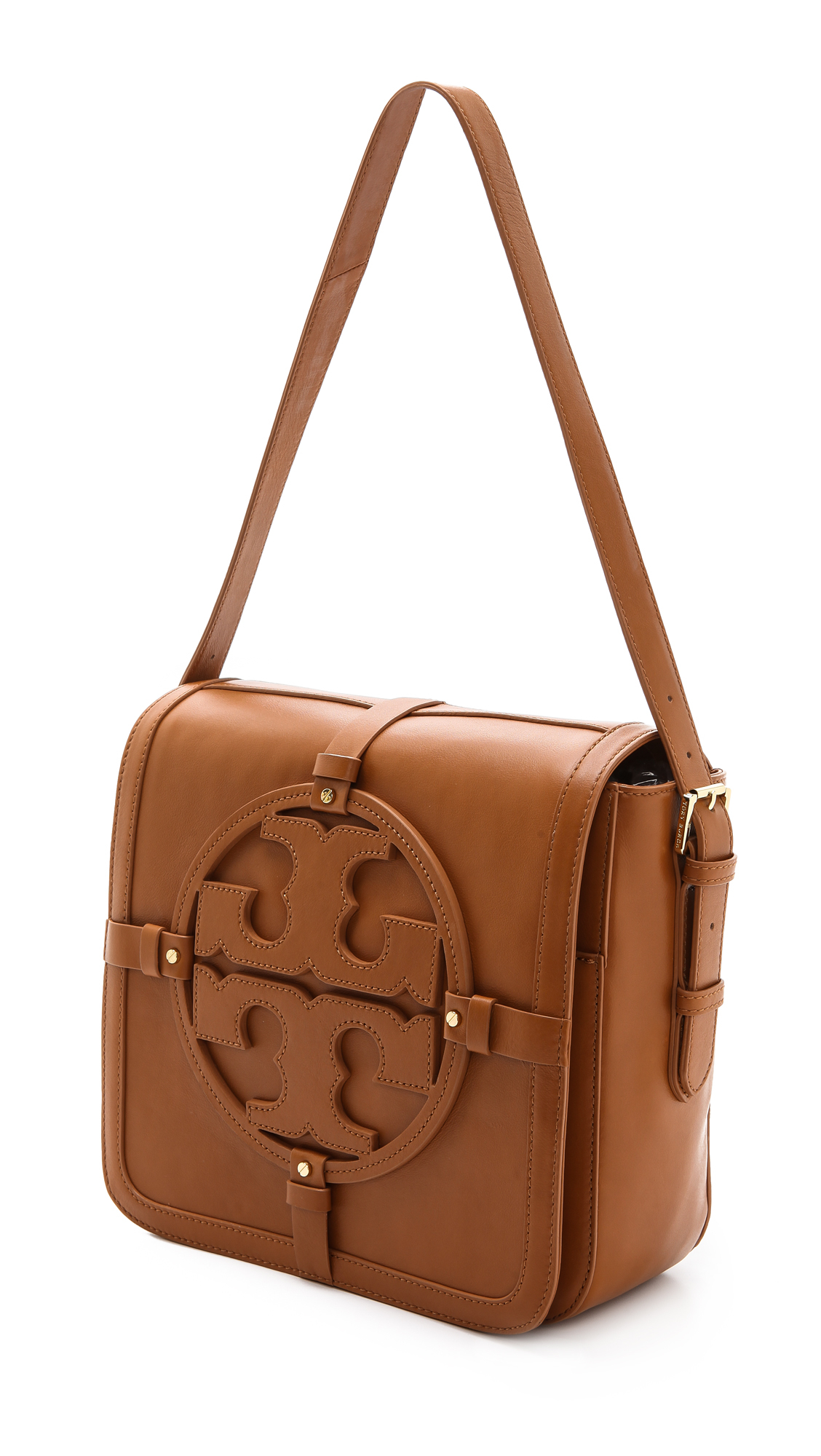 f0005a36eb7 Lyst - Tory Burch Holly Shoulder Bag in Brown