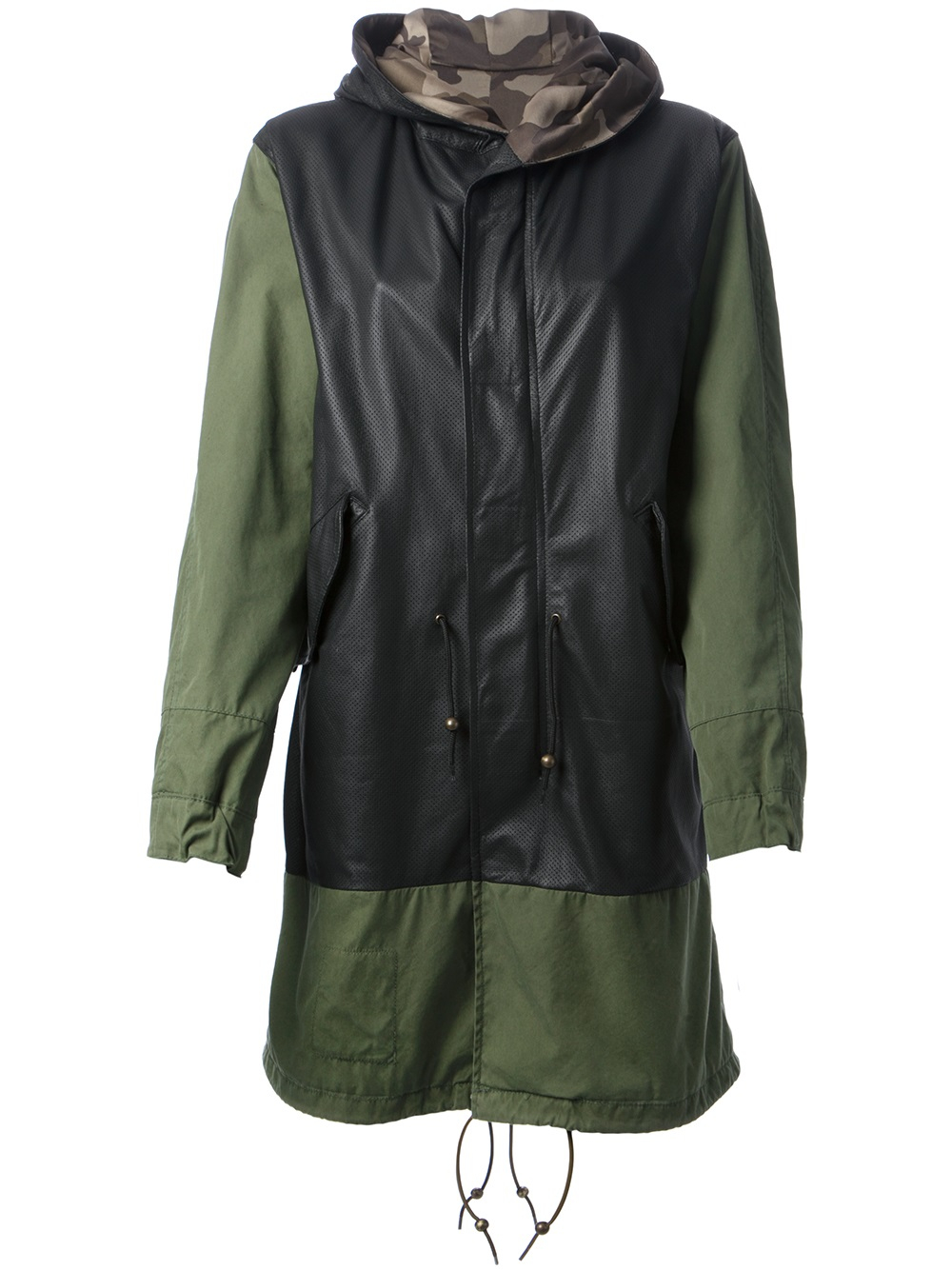 Lyst Mr Amp Mrs Italy Parka Jacket In Green