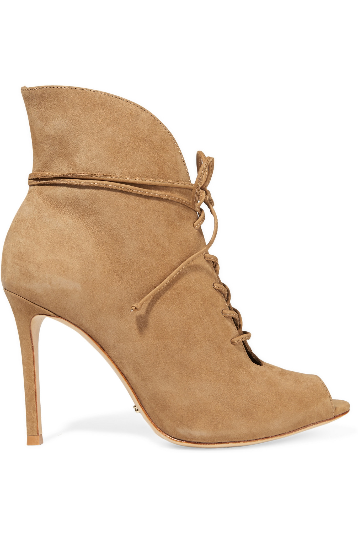 3383837289c7 Lyst - Schutz Kafalin Lace-up Nubuck Ankle Boots in Natural