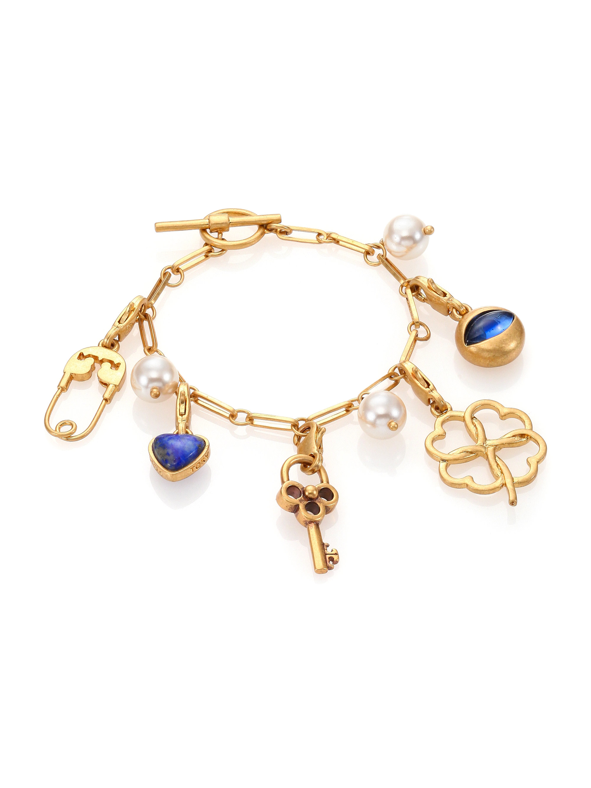 product pink lyst henri charm double set in jewelry normal rose bangles gallery bangle bracelets gold bendel bracelet