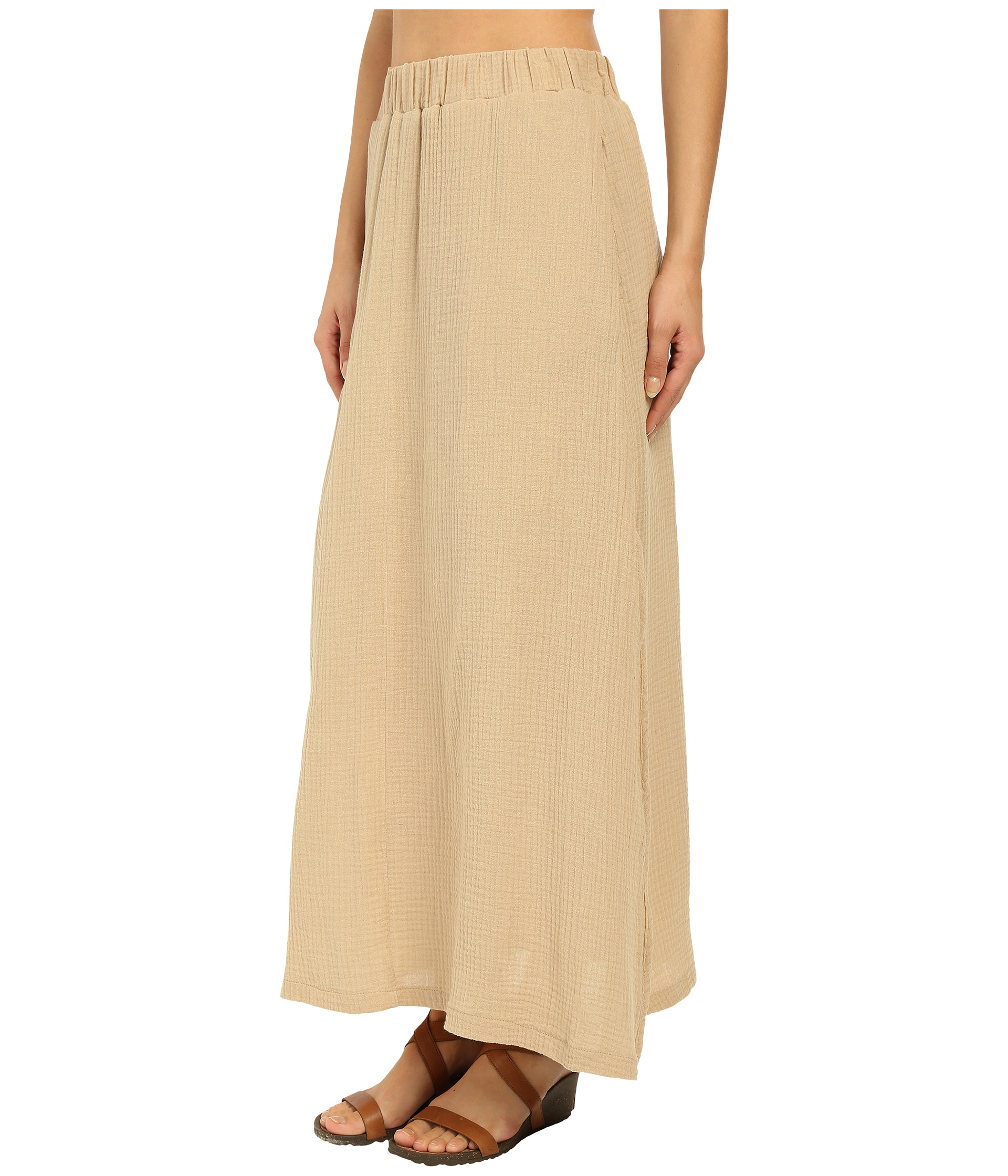 United by blue Sadie Maxi Skirt in Natural